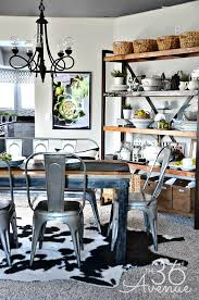 Dining Room Decor Industrial Design The 40th AVENUE Beauteous Home Decor Dining Room