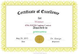 Place Certificate Template Free Mission Resume And First Word 3Rd ...
