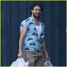 Aaron Taylor-Johnson's Shirt Can Barely Contain His Biceps! | Aaron Johnson  | Just Jared