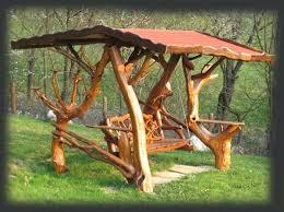Wooden Garden Furniture Rustic Garden Furniture Swing Wooden Patio