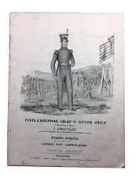 Philadelphia Gray's Quick Step: From Bellini's Opera I Puritani, as  Performed by Johnson's Brass Band   Francis Johnson, musician   Later  mid-19th century edition