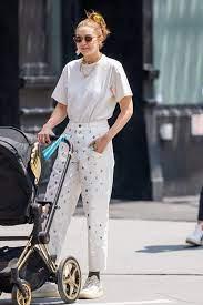 Gigi Hadid Wore the Blingiest White ...
