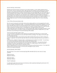 apologies letter to pany apologies letter to pany formal business apology letter sample