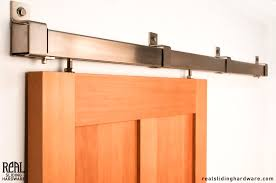 wall mounted byp sliding door hardware awesome barn doors