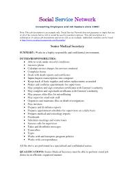 Example Of Job Description Copy Formidable Resume Examples Job ...