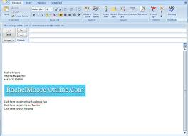 Template Email Outlook Email Signature Template Outlook Elegant 12 Outlook Email