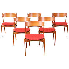 our new arrivals of vine mid century modern furniture at danish modern erik buck 49 teak dining chairs for o d mobler