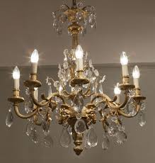 19th century french gilt bronze and cut crystal glass chandelier from antique chandeliers kensington church st