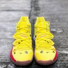 Nike Kyrie 5 Spongebob Squarepants Opti Yellow