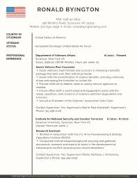 Veteran Resume Examples Veteran Federal Resume Samples Pdf Word Federal Resume