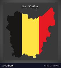 Design Vlaanderen Oost Vlaanderen Map Of Belgium With Belgian