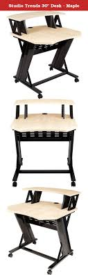 studio trends 30 desk maple the studio trends stld30 is designed specifically for