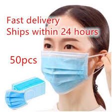 50 pcs <b>3</b>-<b>layer Earloop</b> Disposable Breathable mask | Shopee ...