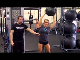Side Leans - Oblique Exercise w/ Medicine Ball - YouTube