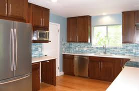 modern cherry wood kitchen cabinets. Modern Cherry Wood Kitchen Cabinets L