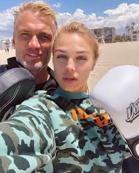 Dolph Lundgren and his daughter : pics