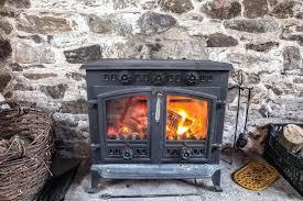 wood burning fireplace doors heat insert