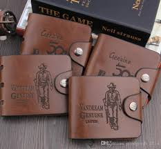 brand new mens high quality leather wallet pockets card clutch cente bifold purse vintage simple man purse a459 stussy wallet orla kiely wallet from