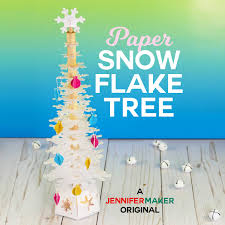 Free download christmas svg icons for logos, websites and mobile apps, useable in sketch or adobe illustrator. Paper Snowflake Christmas Tree Luminary Jennifer Maker