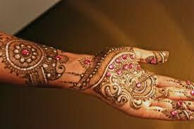 Gujarati Mehndi Design Images Bridal Mehndi Designs Mehndi Design With Glitter 170748