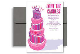 free birthday invitation template for kids purple girls party birthday invitation samples 5x7 in vertical