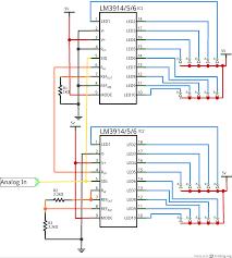 dot bar display driver hookup guide learn sparkfun com cascade schematic