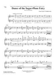 dance of the sugar plum fairy sheet music dance of the sugar plum fairy from the nutcracker sheet music