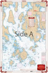 Waterproof Charts Eggemoggin Reach To Blue Hill Maine Nautical Marine Charts