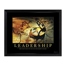 motivational office posters. Leadership Compass Mini Motivational Poster Office Posters