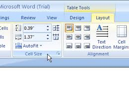 adjust size of image how to adjust column and row size in a word 2007 table