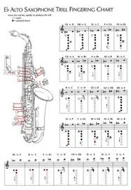 Sax Trill Chart 45 Best Saxophone Images In 2019 Music Chords Saxophone