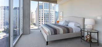 private master bedroom balcony at glass house by windsor dallas tx 75201