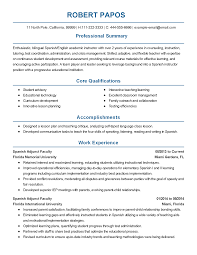 professional spanish professor templates to showcase your talent resume templates spanish professor