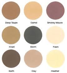 ECCO BELLA: FlowerColor Eyeshadow Deep Taupe (1 2 pan) .05 oz