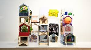 Gallery Of  Architects Design A Dolls House For KIDS - Dolls house interior