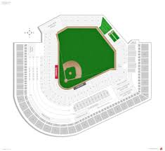 Progressive Field Seating Chart With Seat Numbers Progressive Field Seat Map With Numbers Elcho Table