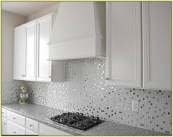 mosaic tiles kitchen ideas glass white tile backsplash