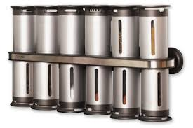 The Zevro Zero Gravity Magnetic Spice Rack