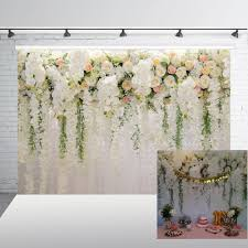 Paper Flower Wedding Backdrops Photography Backdrops Floral Wedding Backdrop For Party