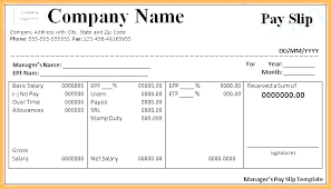 free uk payslip template download payslip template
