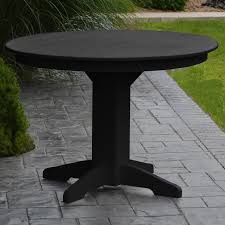 polyresin 44 round dining table