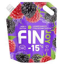 Стеклоомыватель <b>Fin Joy Fruity</b> зимний -15 °С 3 л — купить в ...