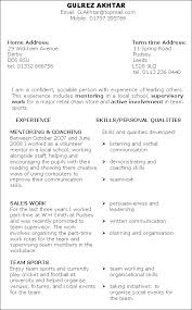 Resume Template Skills Based Best of Cv Skills Based Template Fastlunchrockco