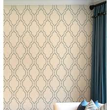 Small Picture Sophia Trellis Moroccan stencil Wall Pattern stencils for walls