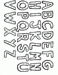 Small Picture Alphabet Coloring Pages A Z line drawings online Alphabet Coloring