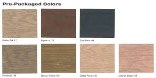Different Color Wood Stains Wood Stain Color Chart Hardwood