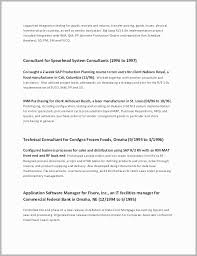 Chronological Resume Format Best Reverse Chronological Resume Example Free Download
