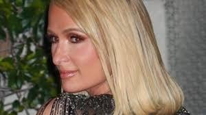 Paris Hilton attends Oscars after-party in <b>see</b>-<b>through dress</b>   Photos
