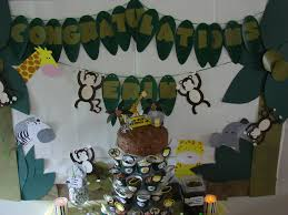 Jungle Decoration Baby Shower Jungle Decorations Baby Shower Diy