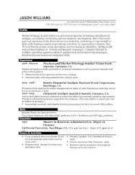 Good Sample Resume Objectives Format Examples For Job Apply Of – Fdlnews